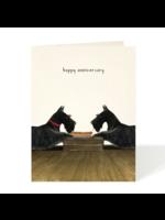 Felix Doolittle Card - Anniversary Hot Dog