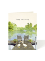 Felix Doolittle Card - Anniversary Just Ducky
