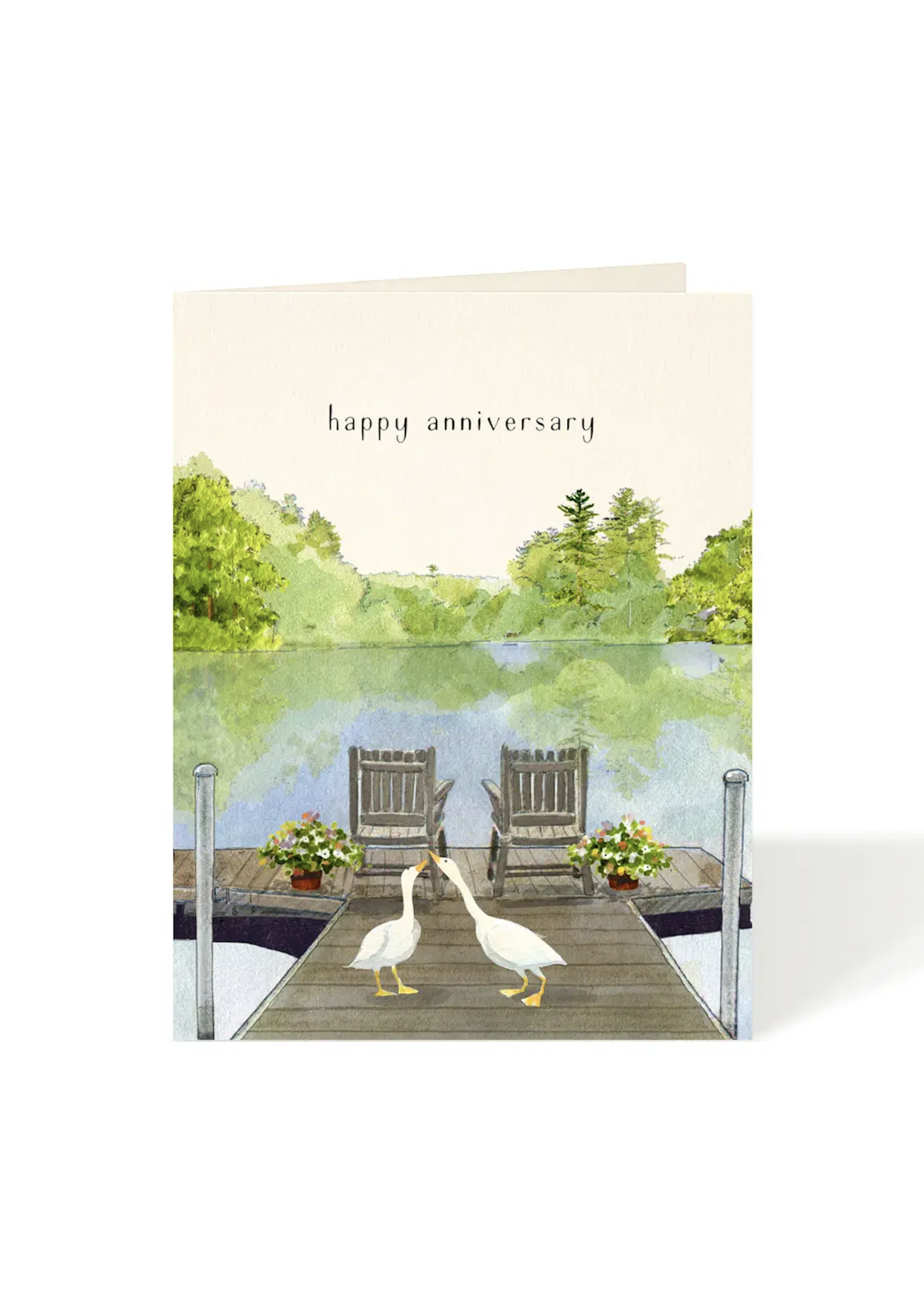 Card - Anniversary Just Ducky