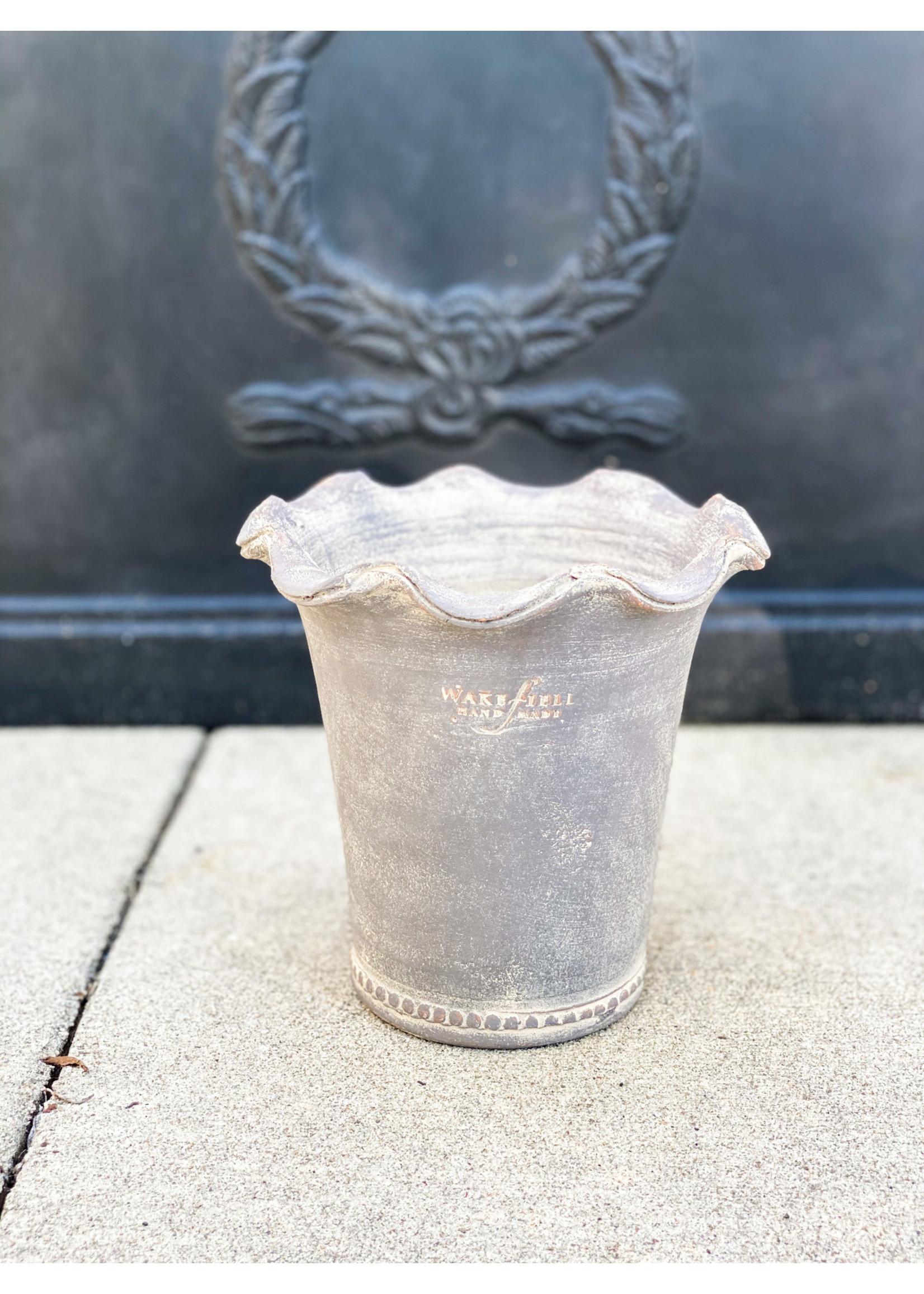 Wakefield Pottery - Festonee Pot Grey #6