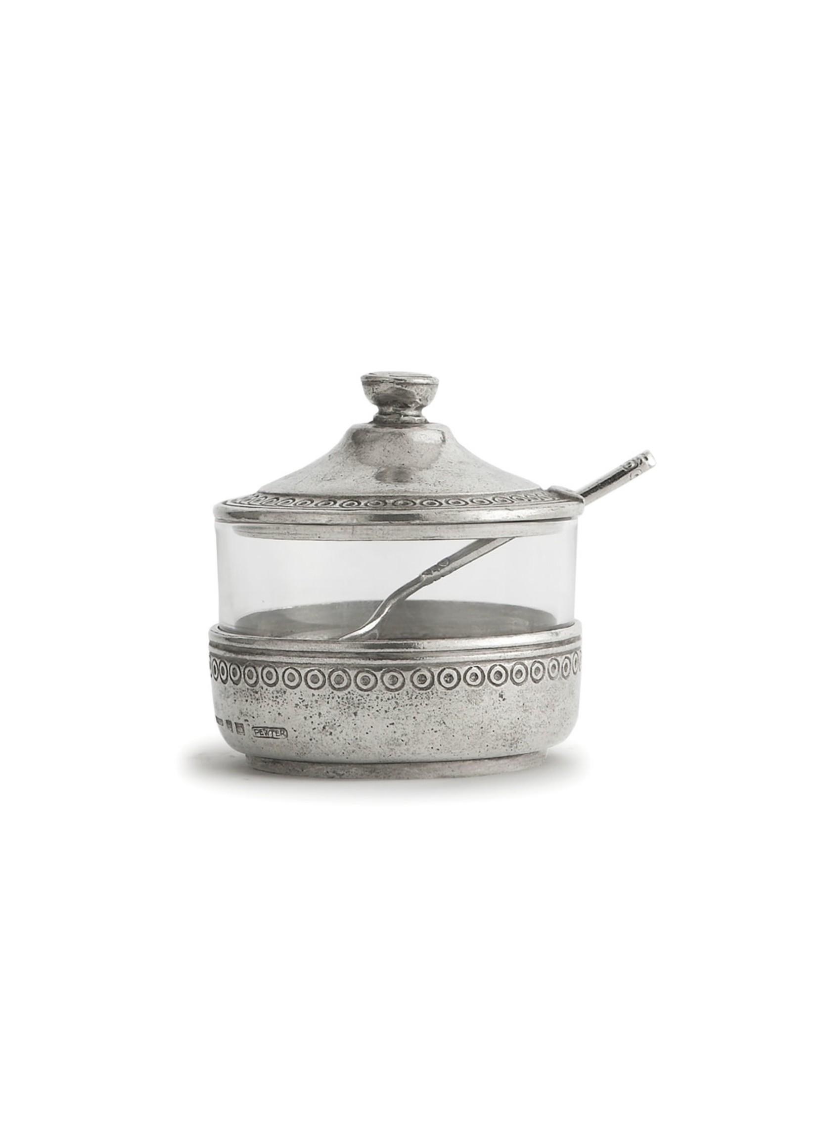 Arte Italica Sugar Jar with Spoon - Anna Caffe
