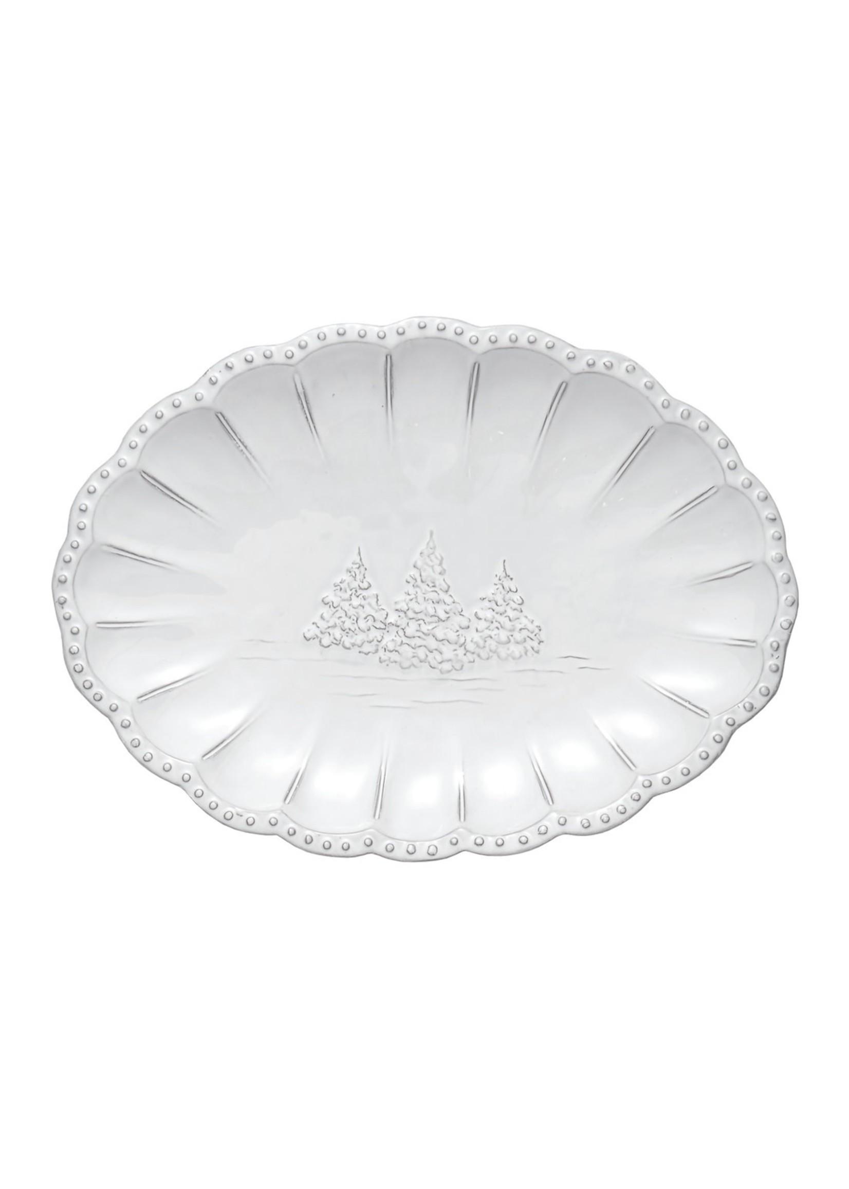 Arte Italica Bella Natale - Oval Platter Small