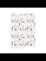 Dogwood Hill Gift Wrap Sheets - Parisian Picnic (3 sheets)