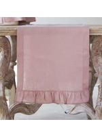 """Crown Linen Runner - Plain - Dusty Pink - 90"""""""