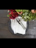 Crown Linen Washed Linen Napkin - Cream (Set of 4)