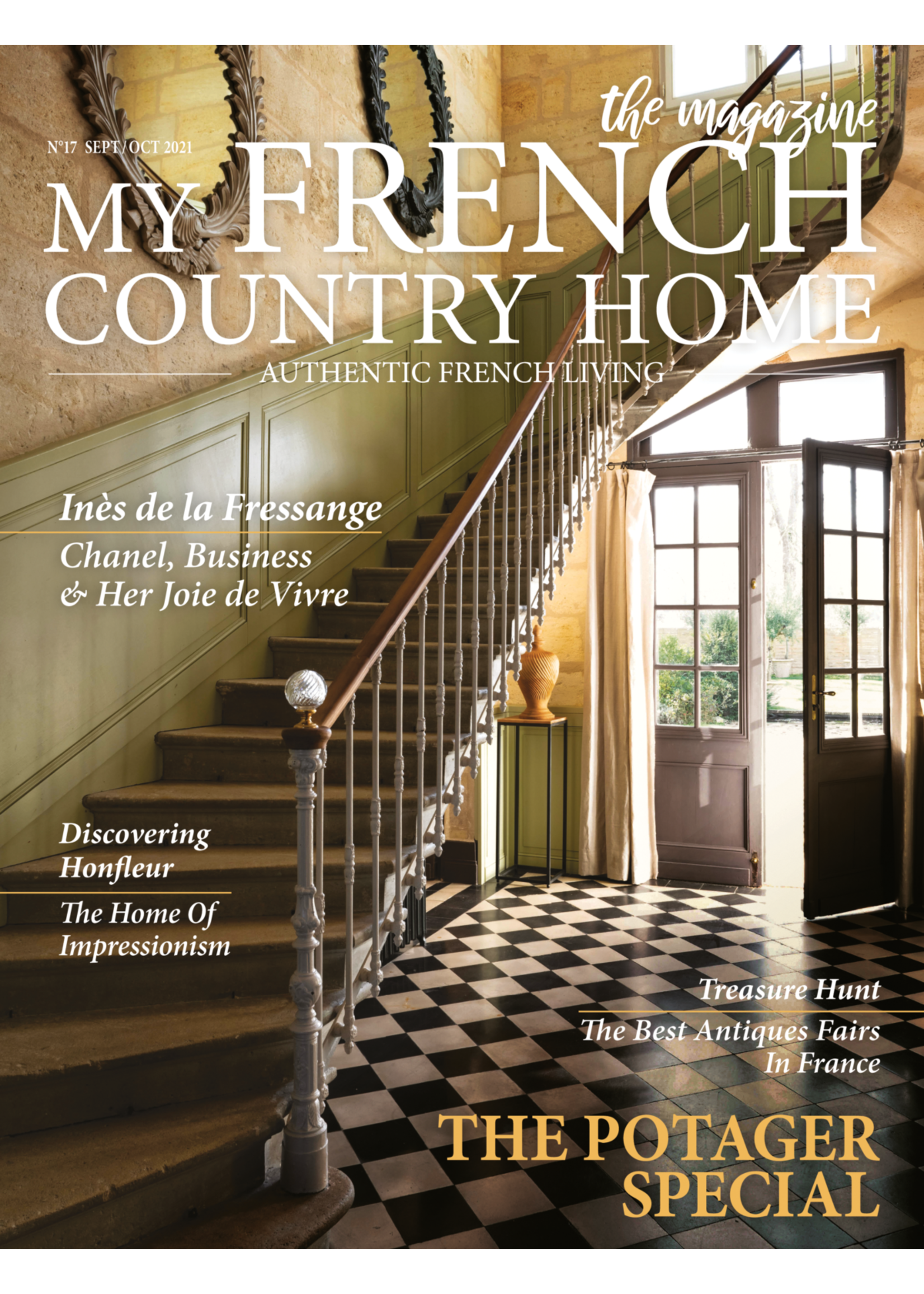 My French Country Home Magazine September/October 2021