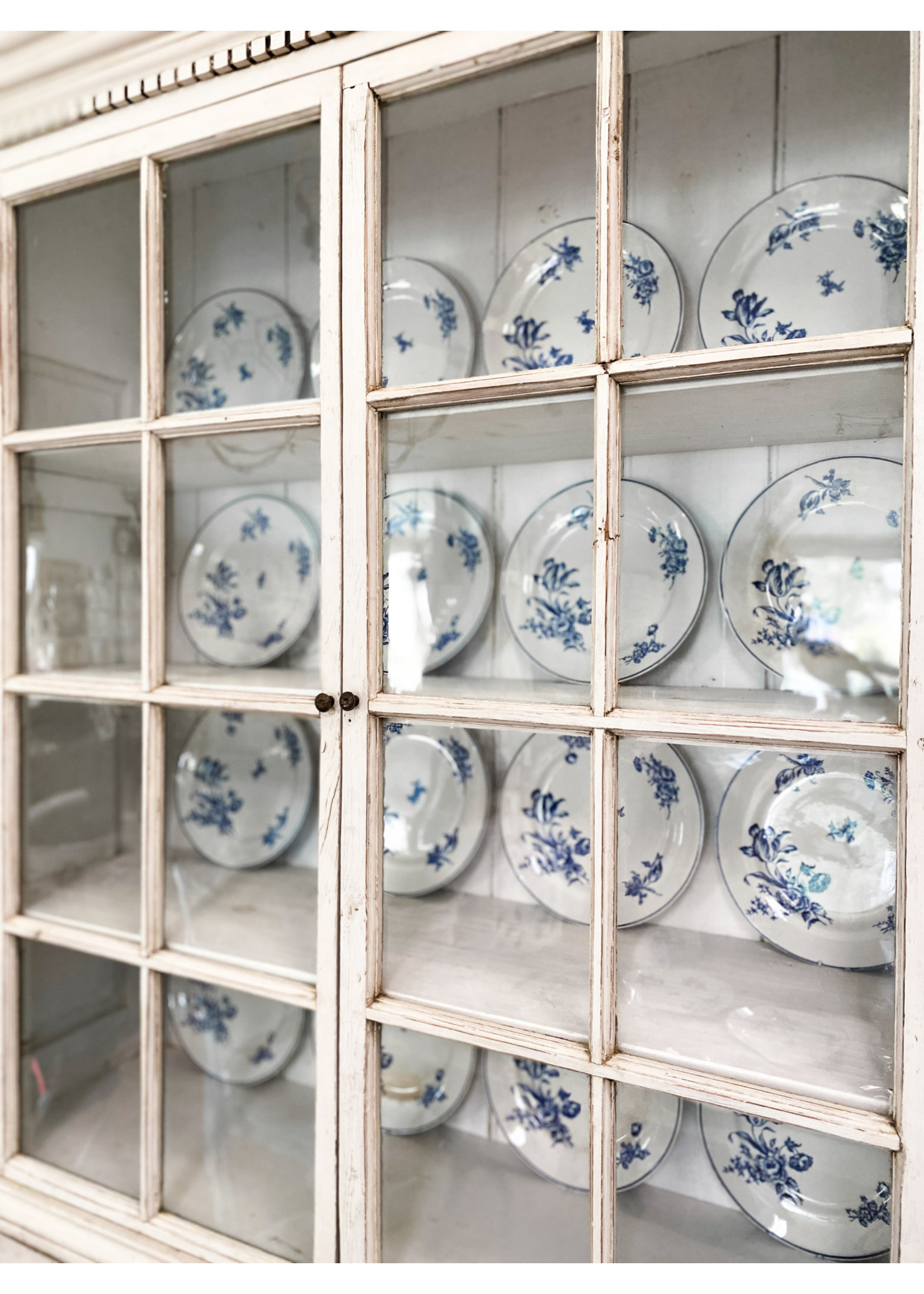 Antique Antique Swedish Blue Plate