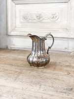 Antique Antique - English Silverplate Pitcher - with original makers address