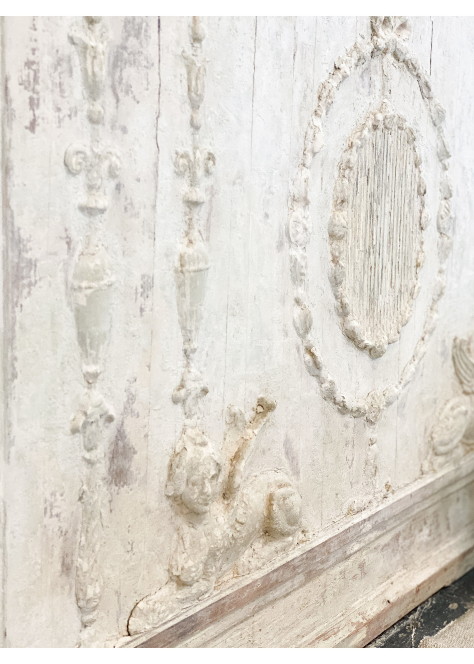 Antique Pair of Vintage French Wall Pilasters  - From Paris