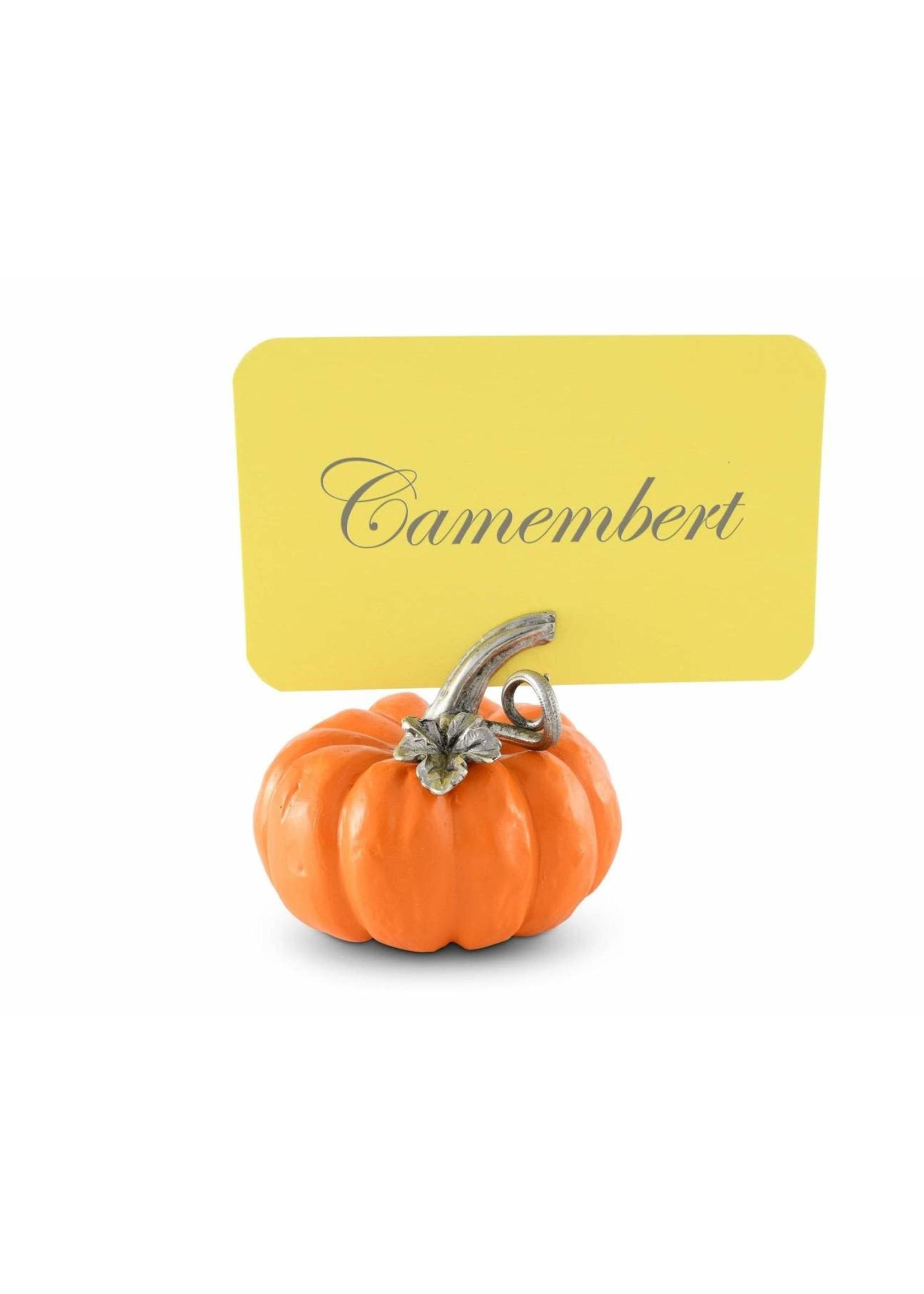 Place Card Holder Pumpkin