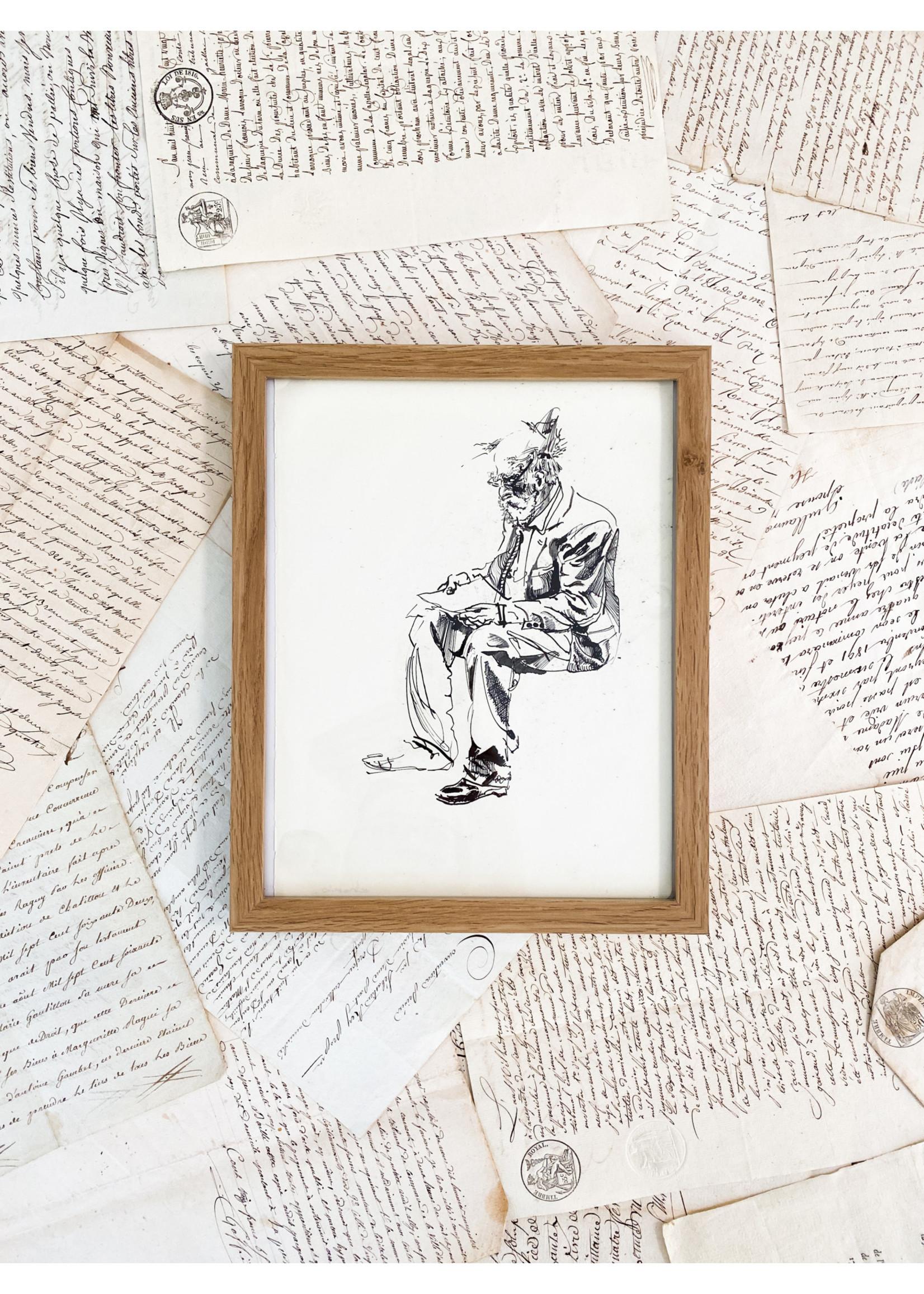 Chase Bindner Chase Bindner - Original Ink Drawing 8x10