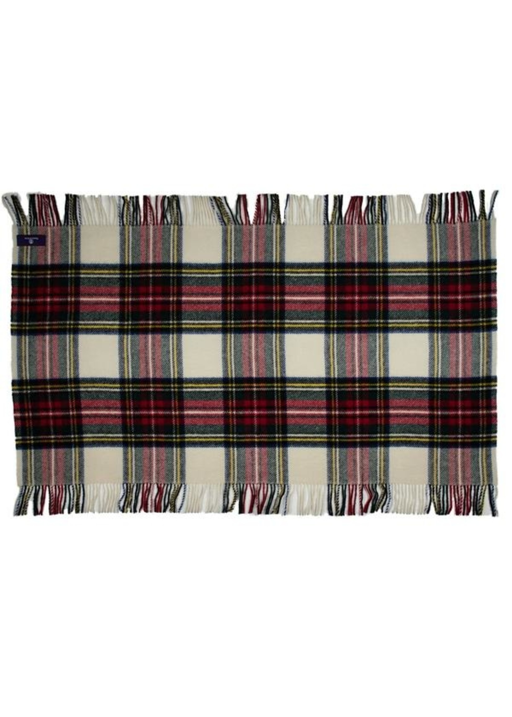 Highland Tartan Tweed Lap/Shoulder Throw - Dress Stewart