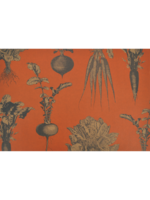 Hester & Cook Paper Placemats - Harvest Vegetables Persimmon