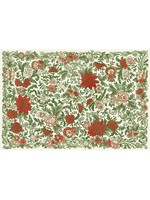 Hester & Cook Paper Placemats - Christmas China (24 sheets)