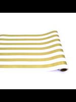 Hester & Cook Paper Runner - Classic Stripe Gold