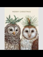 Hester & Cook Card Boxed Set - Winter Owls (set of 6)