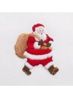 Henry Handwork Towel - Santa