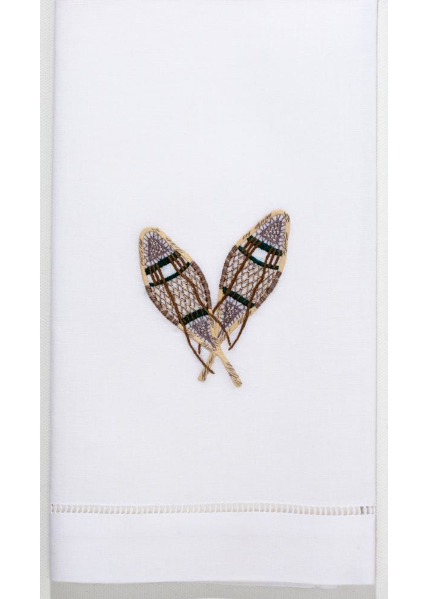 Henry Handwork Towel - Snowshoes