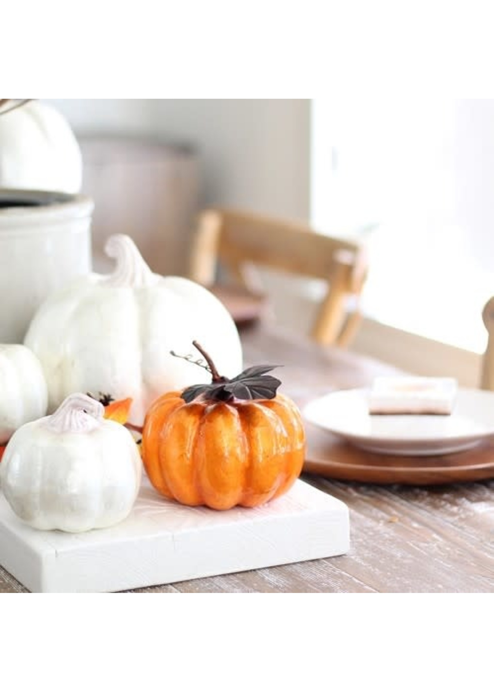 Pumpkin Capiz - Orange Small