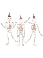 Meri Meri Halloween Jointed Skeletons