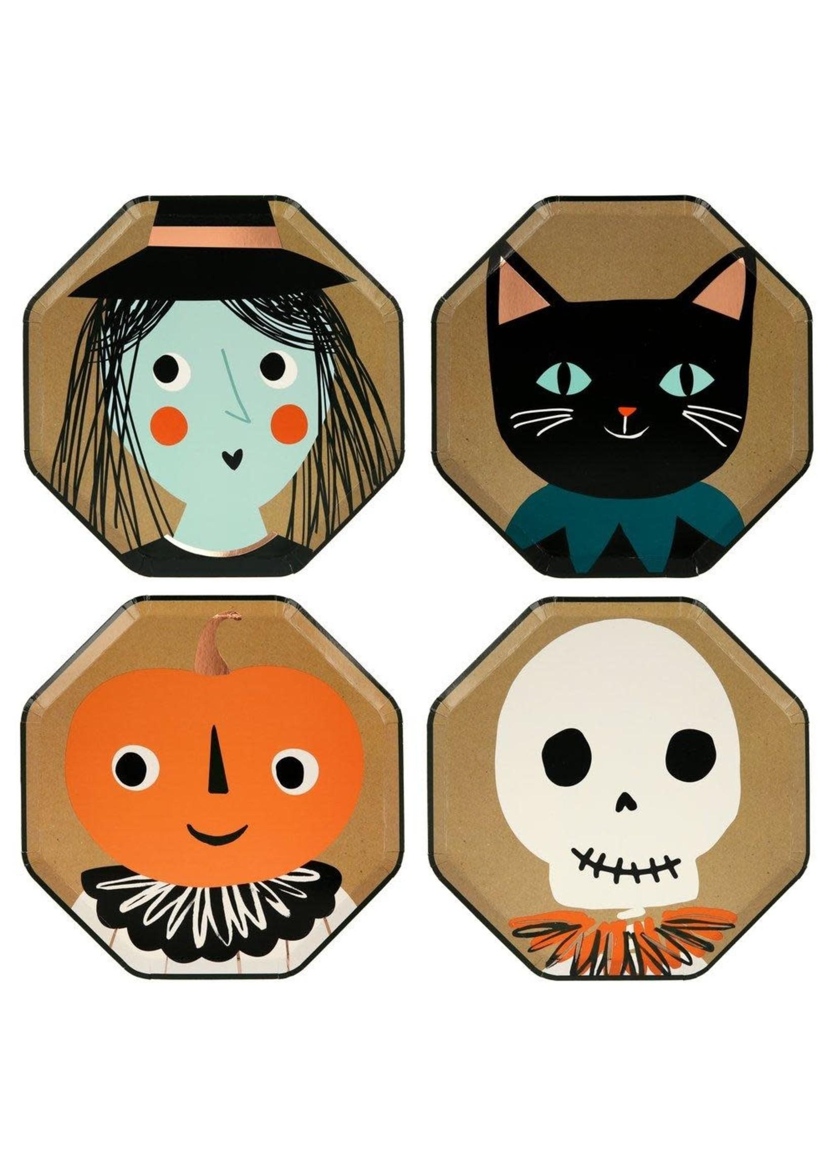 Meri Meri Paper Plates Side - Halloween