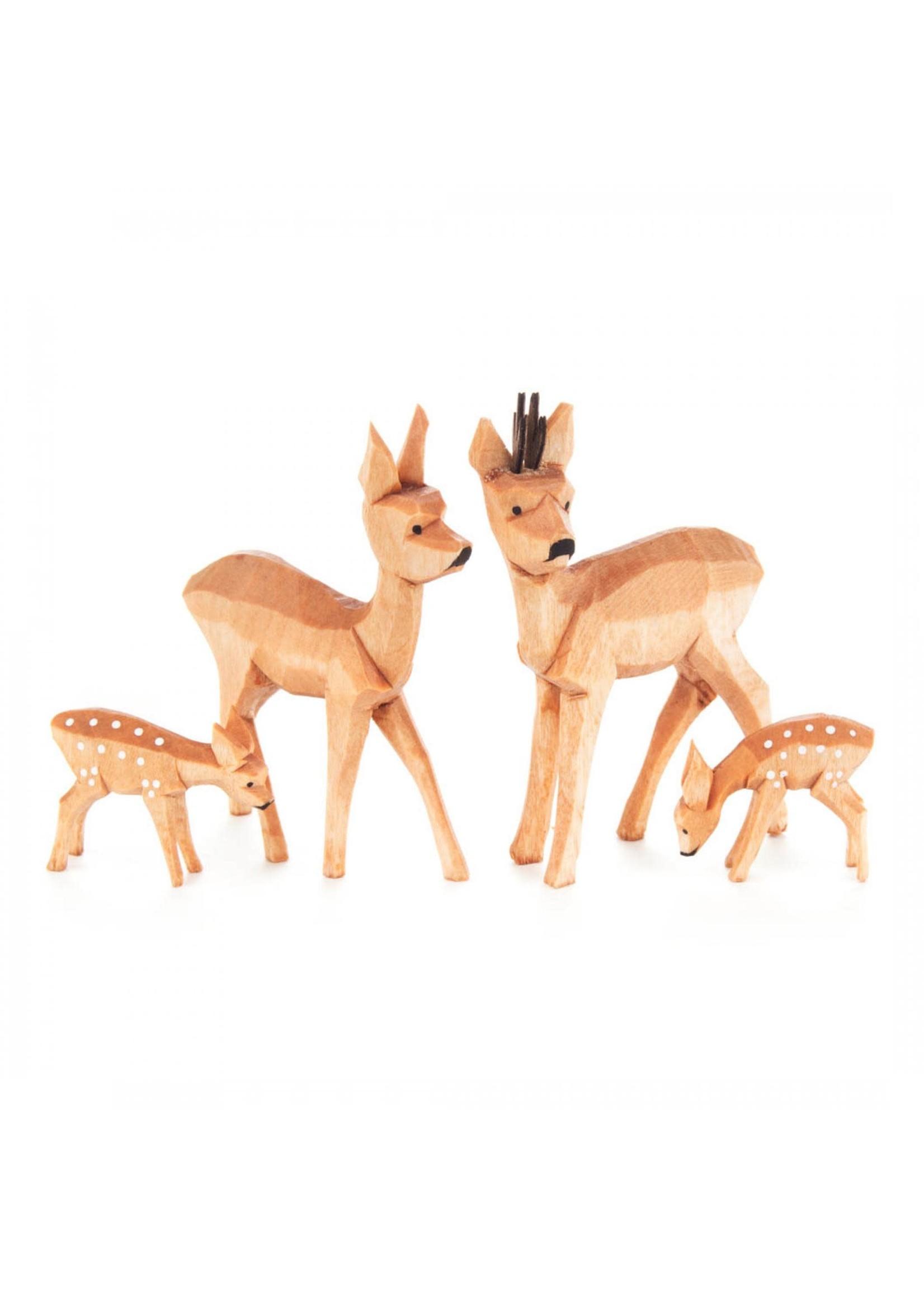 Deer Family (4 piece set)