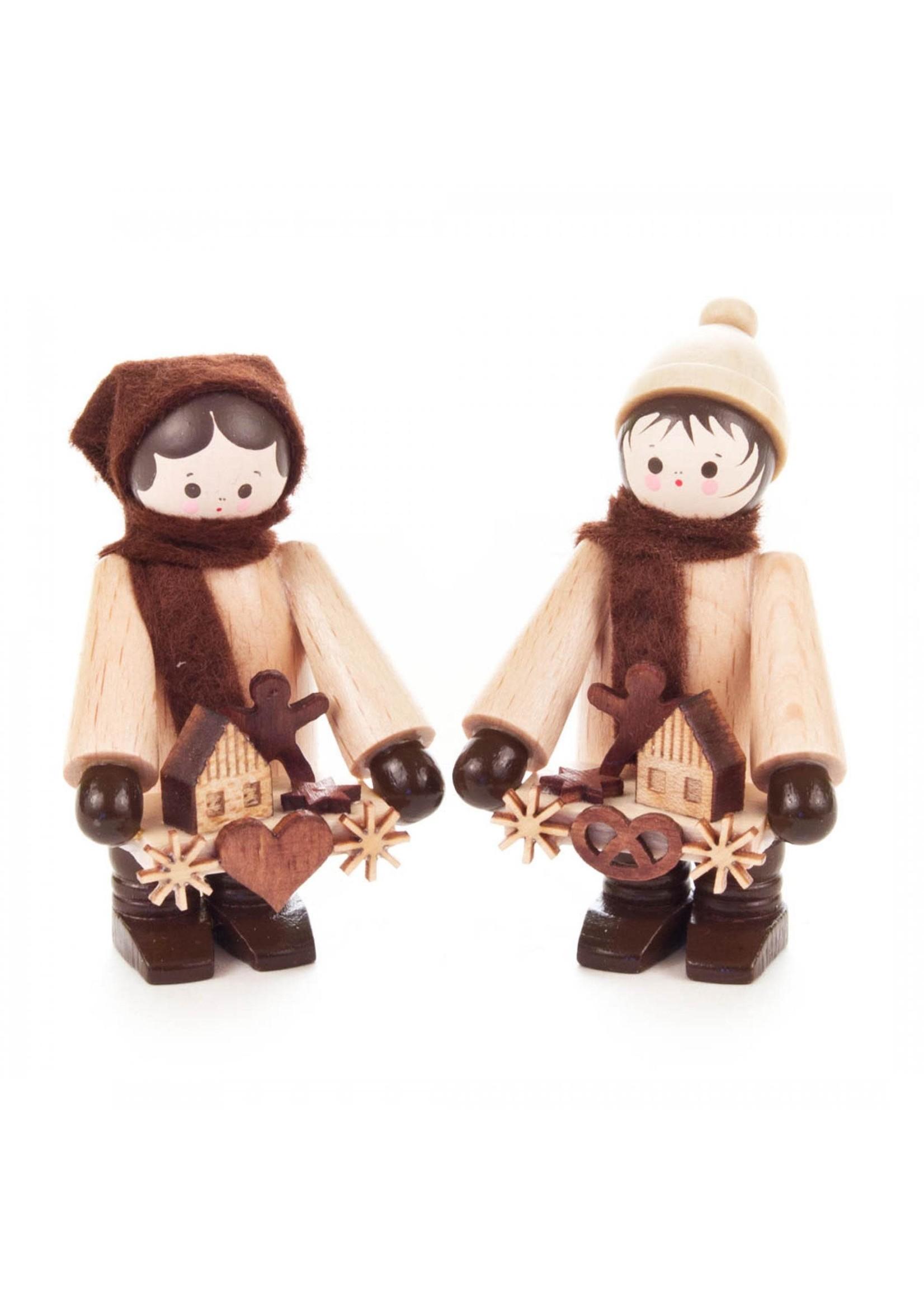 Toy Sellers (pair)