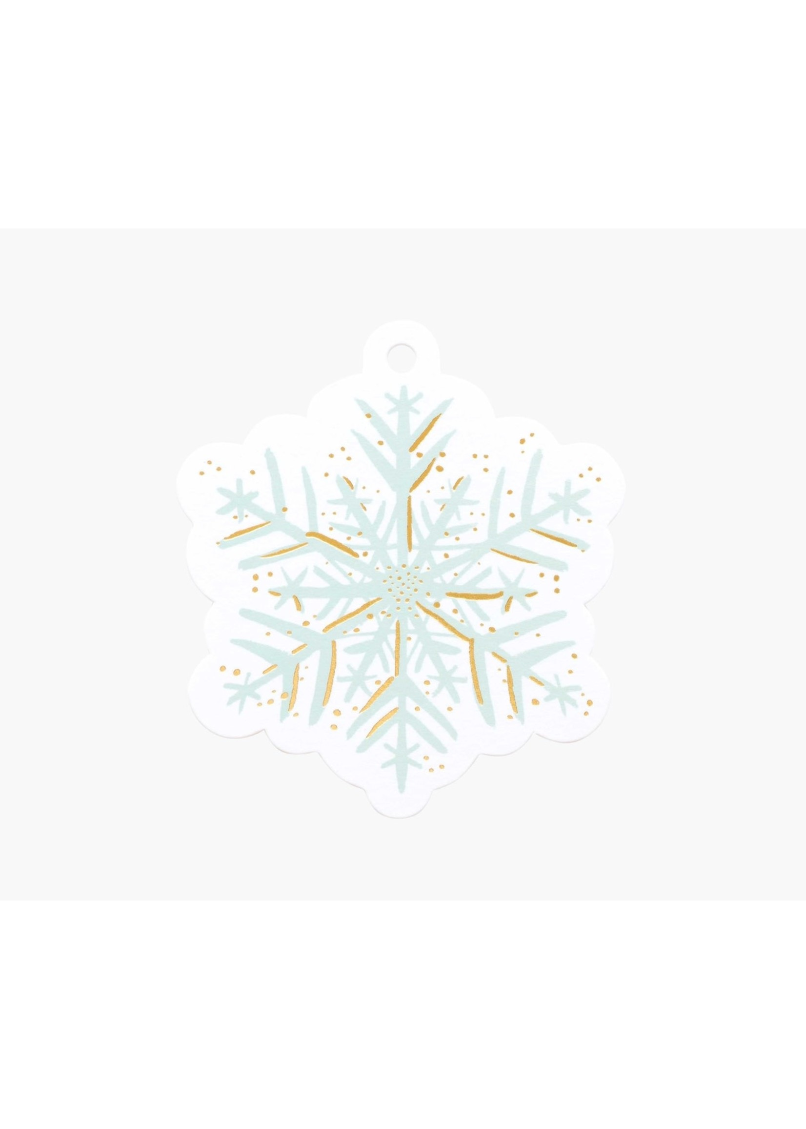 Rifle Paper Co. Gift Tags - Snowflake (pack of 8)