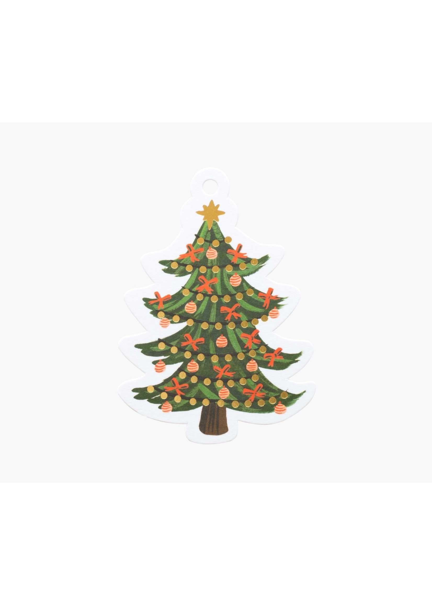 Rifle Paper Co. Gift Tags - Christmas Tree (pack of 8)