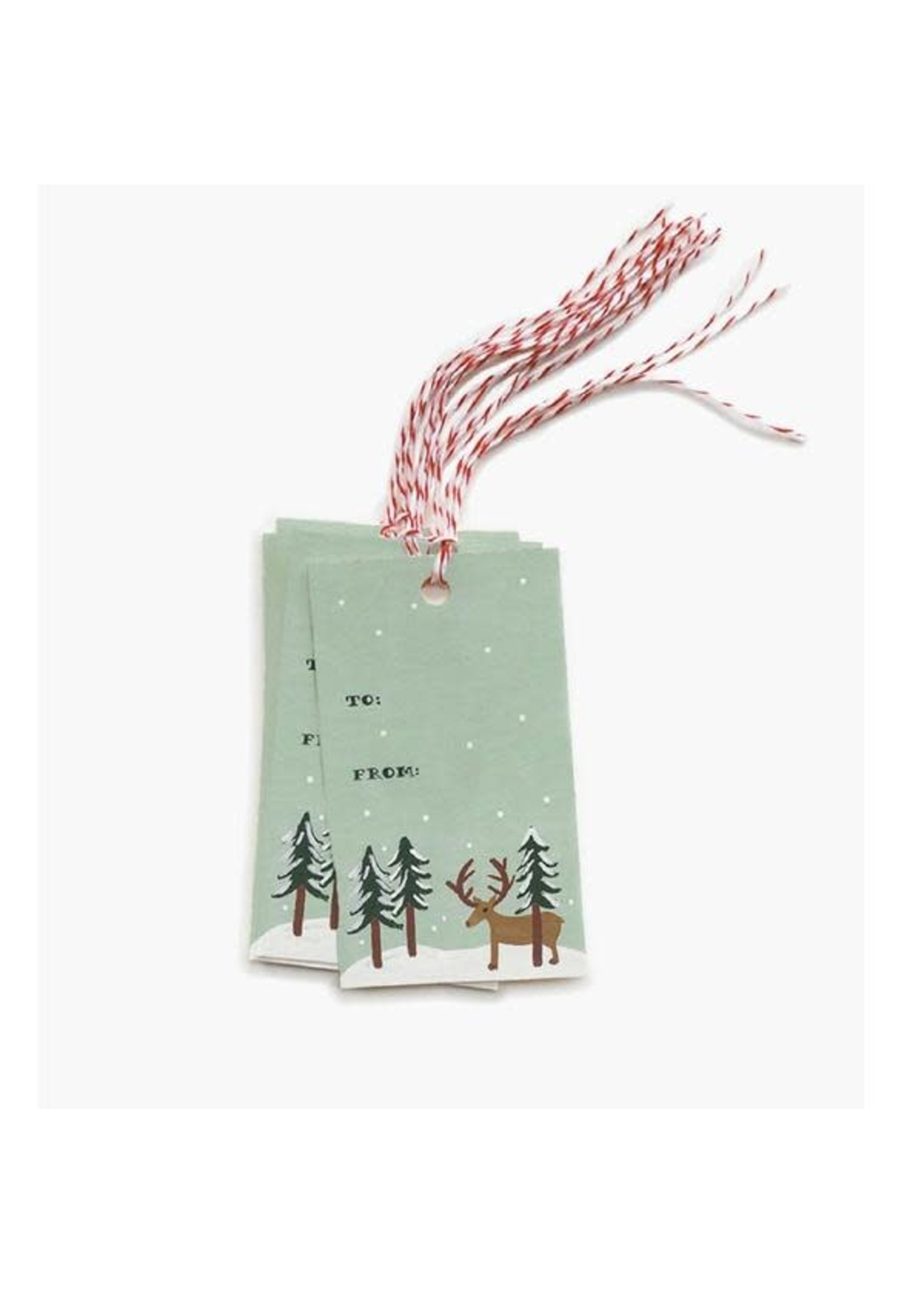 Rifle Paper Co. Gift Tags - Reindeer (pack of 10)