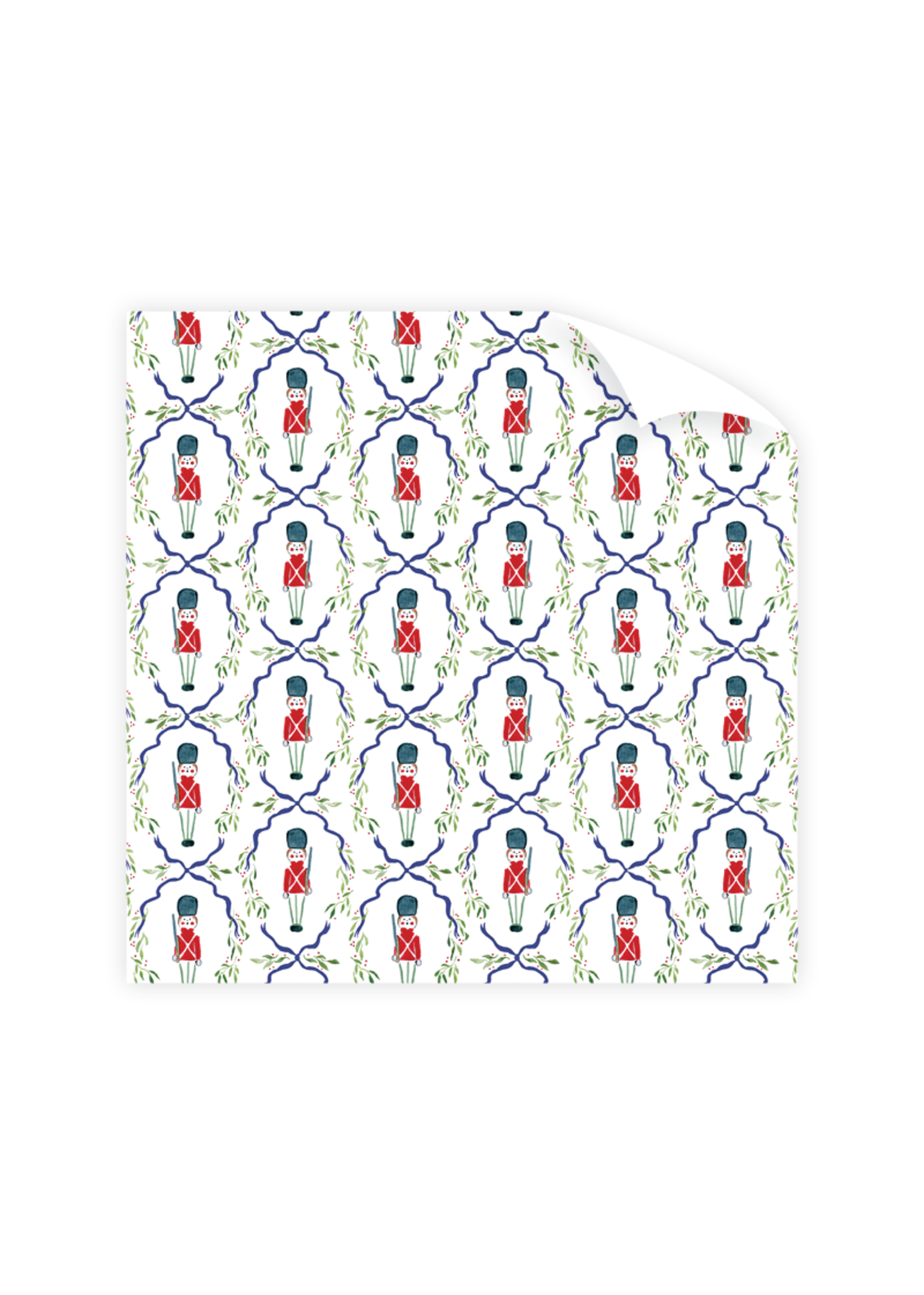 Dogwood Hill Gift Wrap - Toy Soldiers (3 sheets)