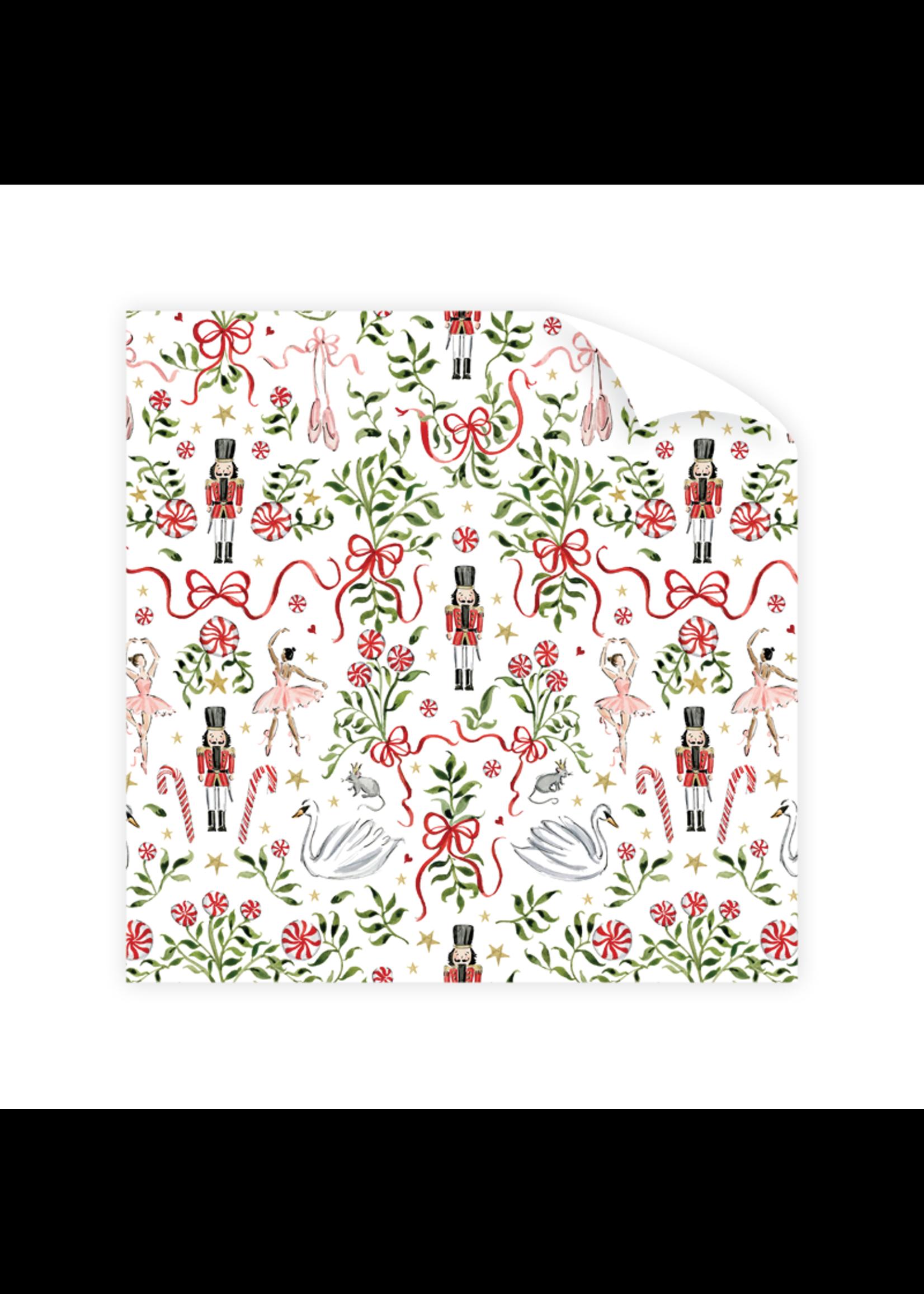 Dogwood Hill Gift Wrap - Nutcracker Garden (3 sheets)