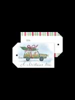 Dogwood Hill Gift Tags - Rhode Island Wagoneer (pack of 10)