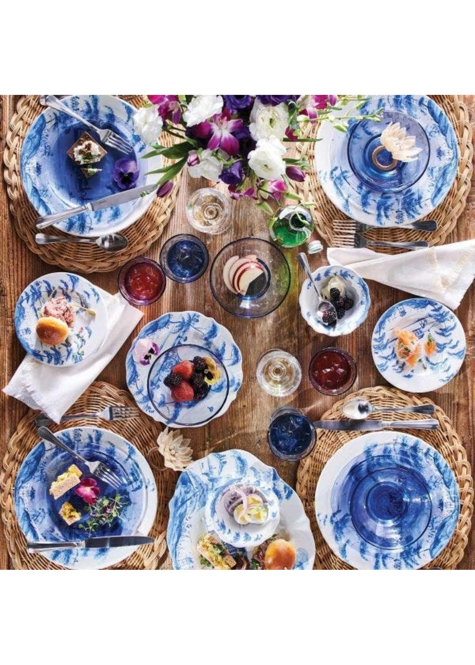 Juliska Country Estate - Delft - Party Plate (Set of 4) Box Spring Scenes
