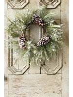 """Wreath - Frosted Pine 20"""""""