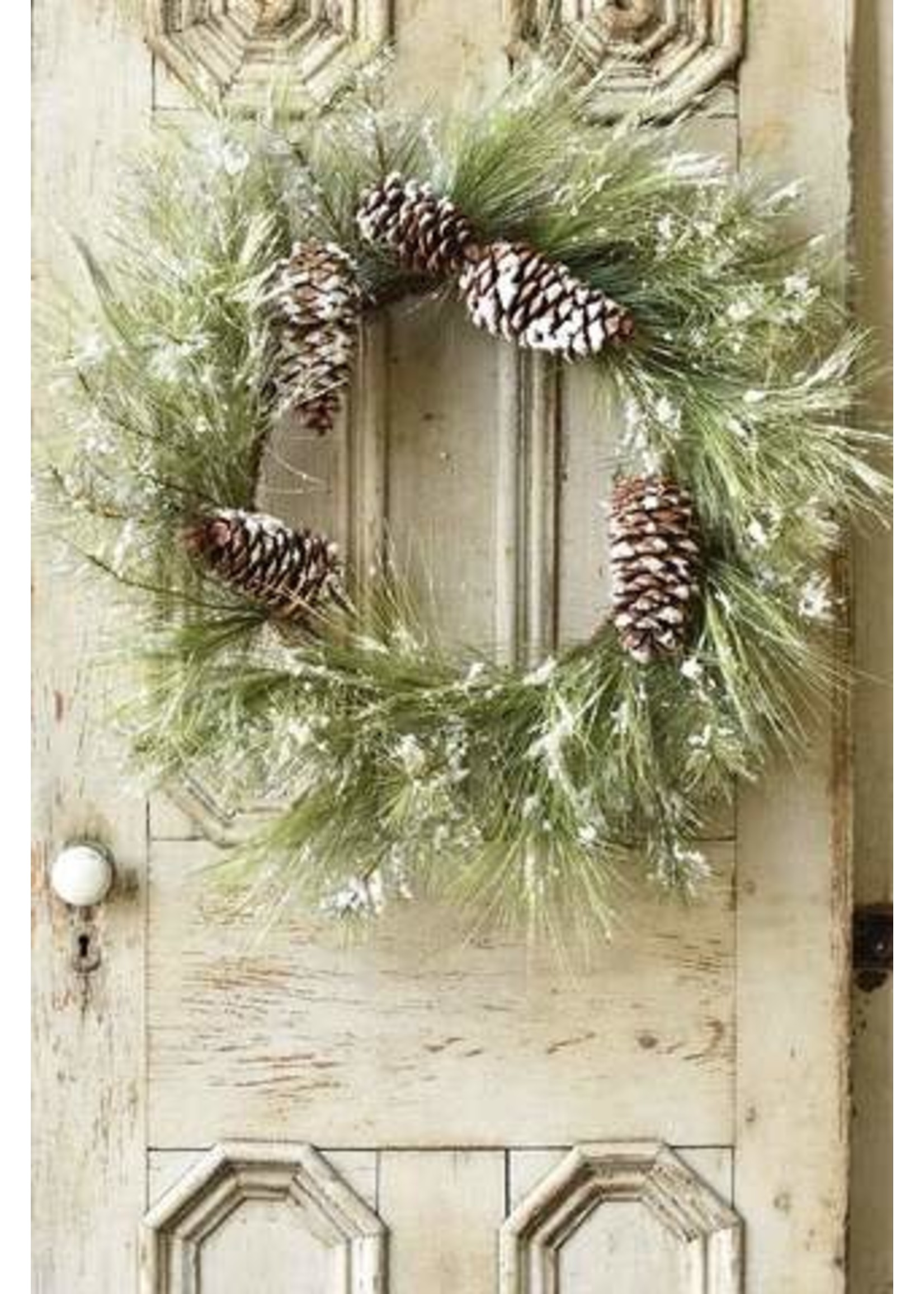 """Wreath - Frosted Pine 30"""""""