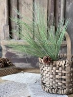 """Spray - Giant Pine with Cone 20"""""""