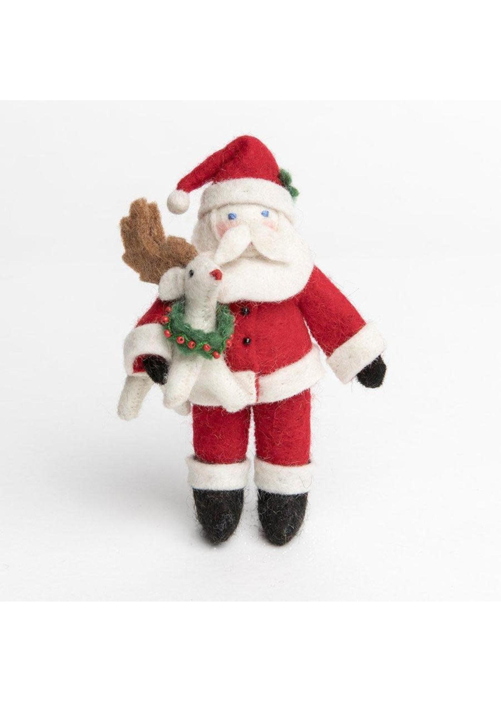Ornament - Baby Rudolph Santa