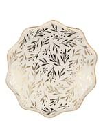 Meri Meri Paper Plates Dinner - Gold Leaf