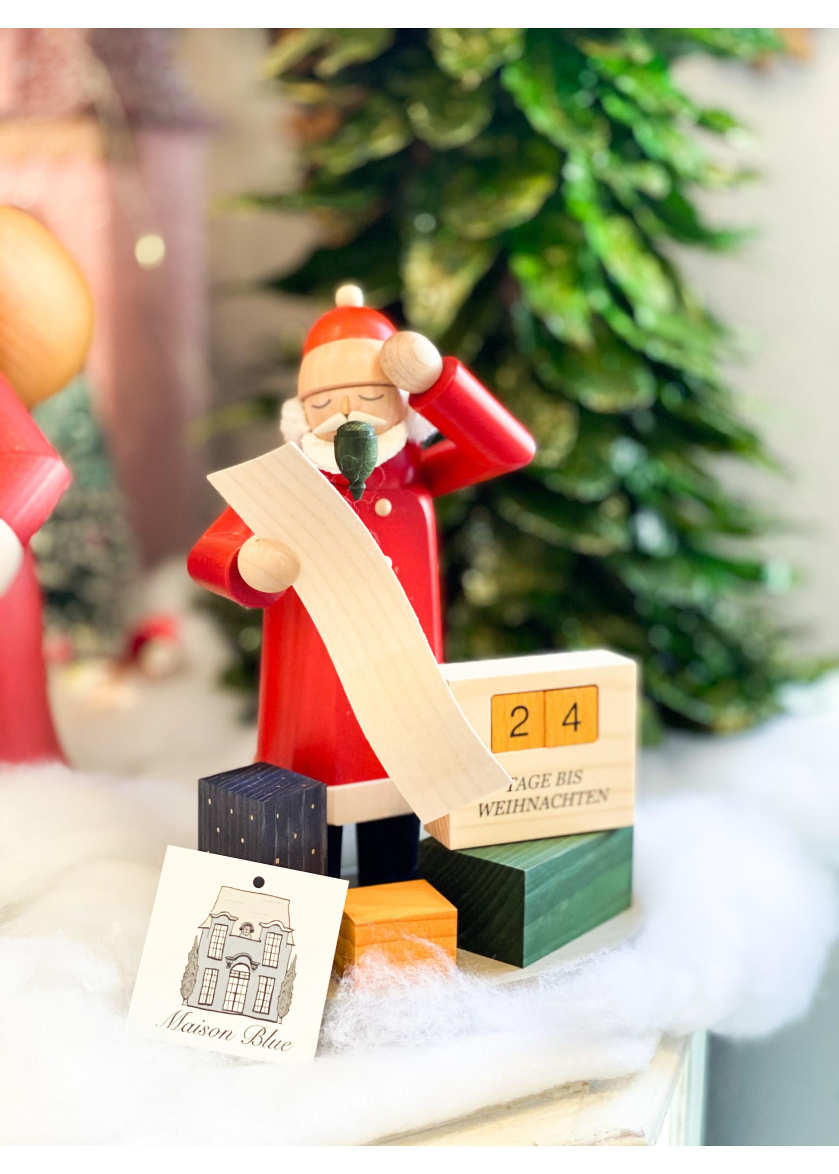 Smoker Santa with Christmas Countdown