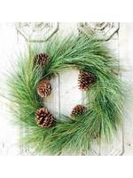 """Wreath - Giant Pine/Sugar Cone 24"""""""