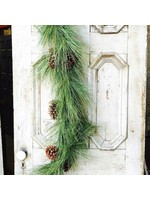 Garland - Giant Pine/Sugar Cone 6'