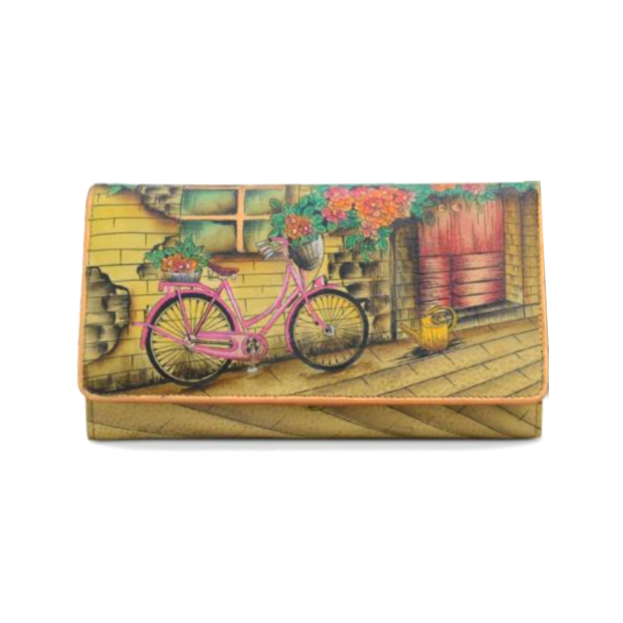 Anuschka clutch wallet with accordion pockets 1095 vtb