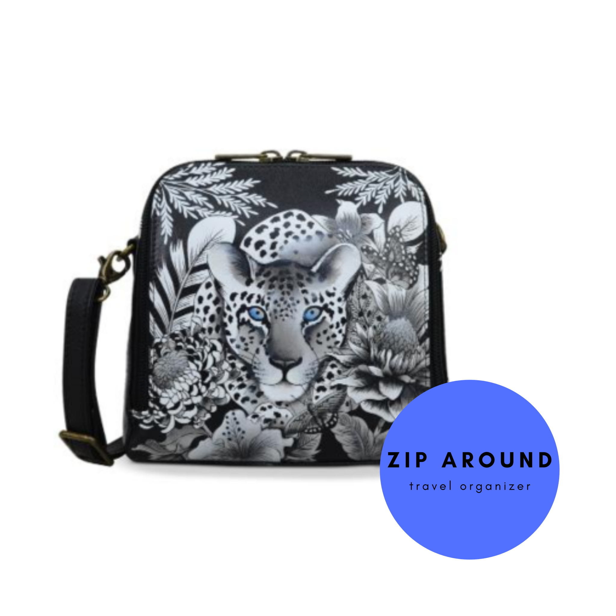 Anuschka zip around travel organizer 668 clp