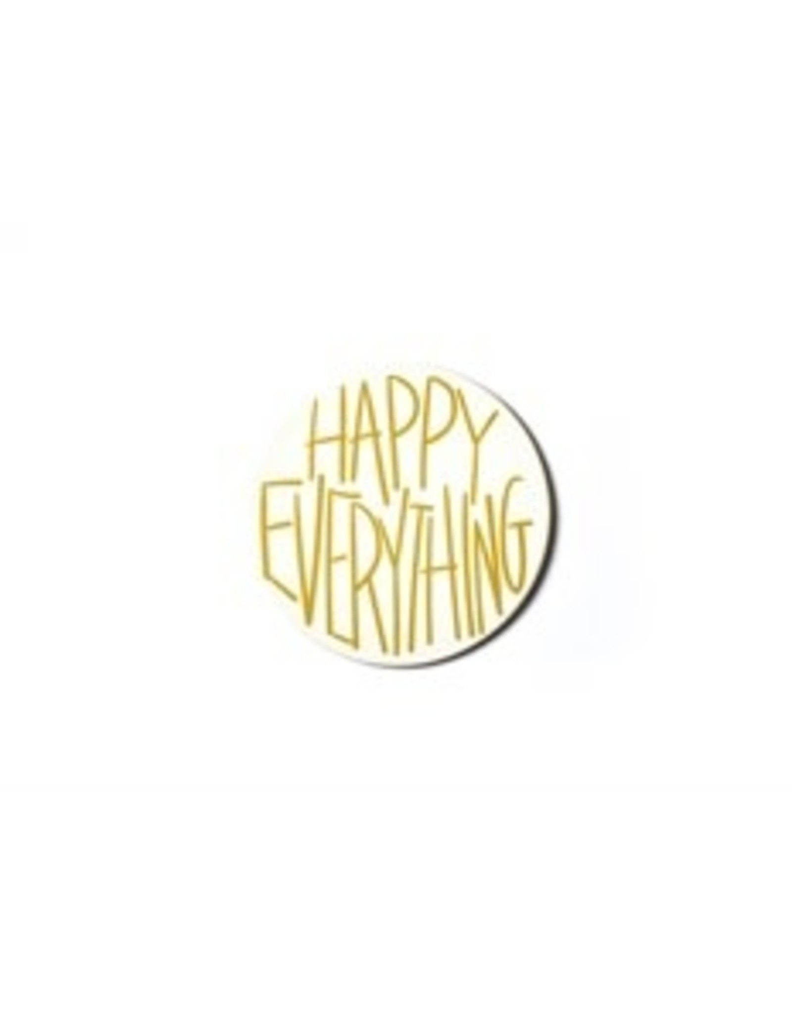 Gold Happy Everything  Big Attachment