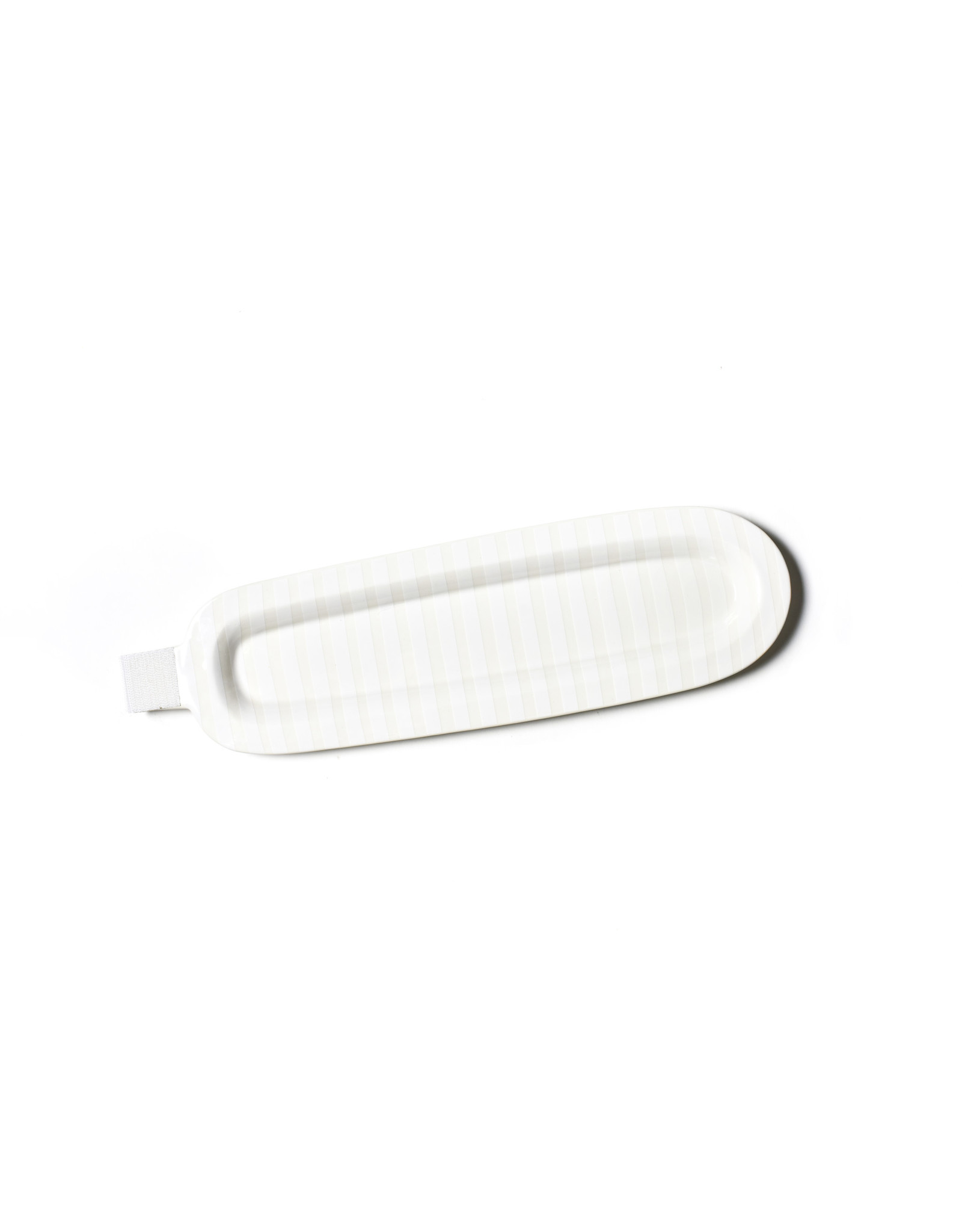 White Stripe Mini Skinny Platter