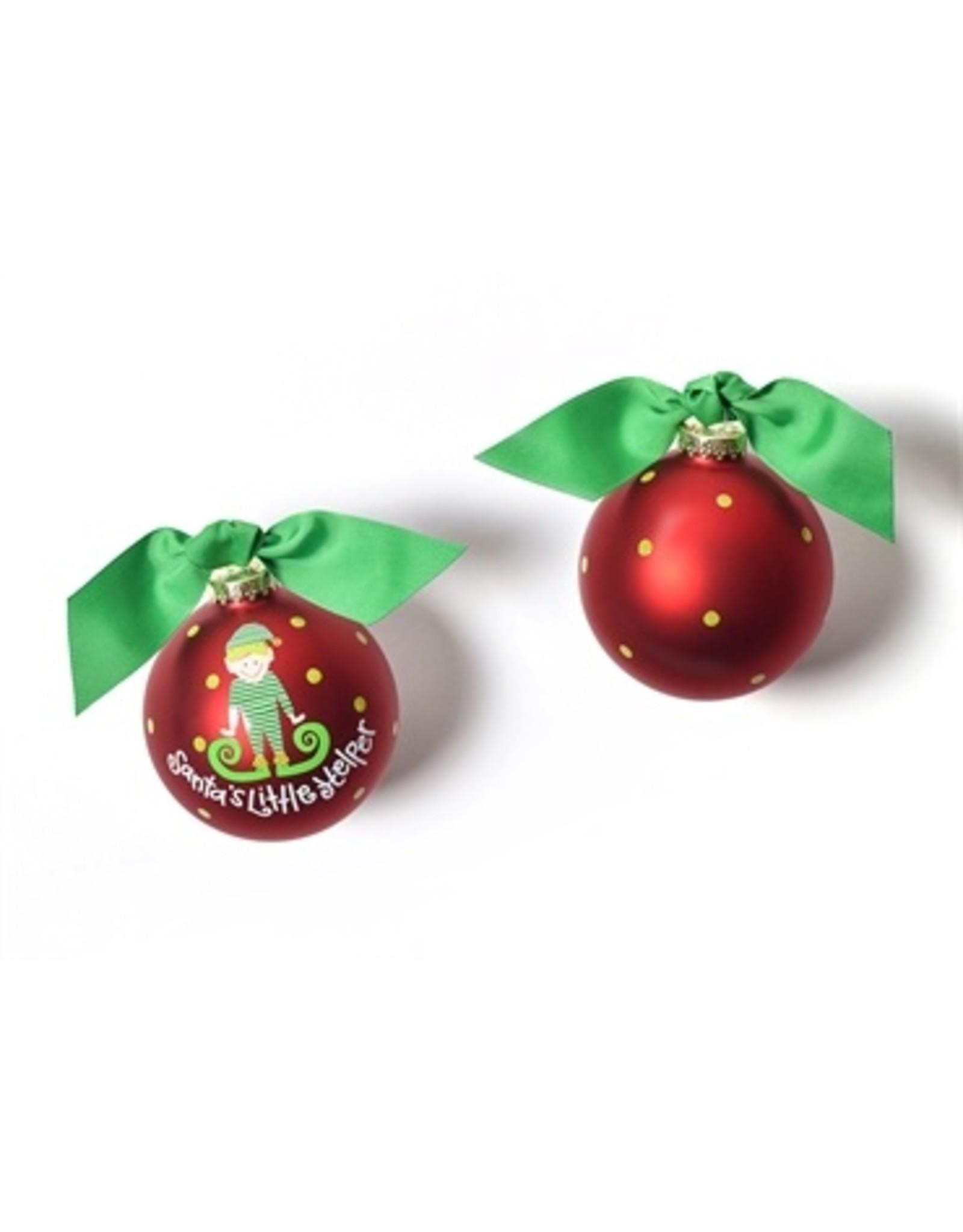 Santa's Little Helper-Boy Ornament