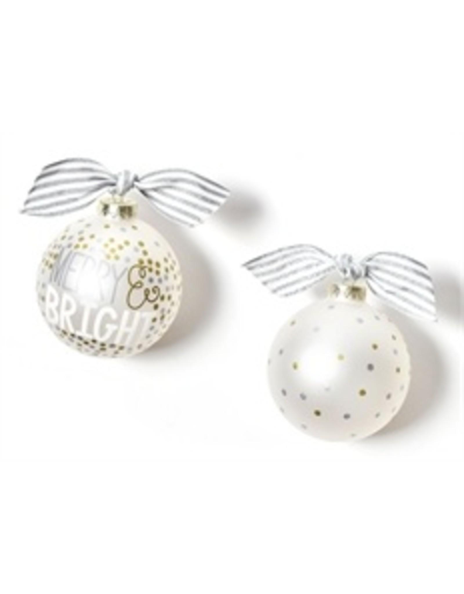 Merry & Bright Dot Ornament