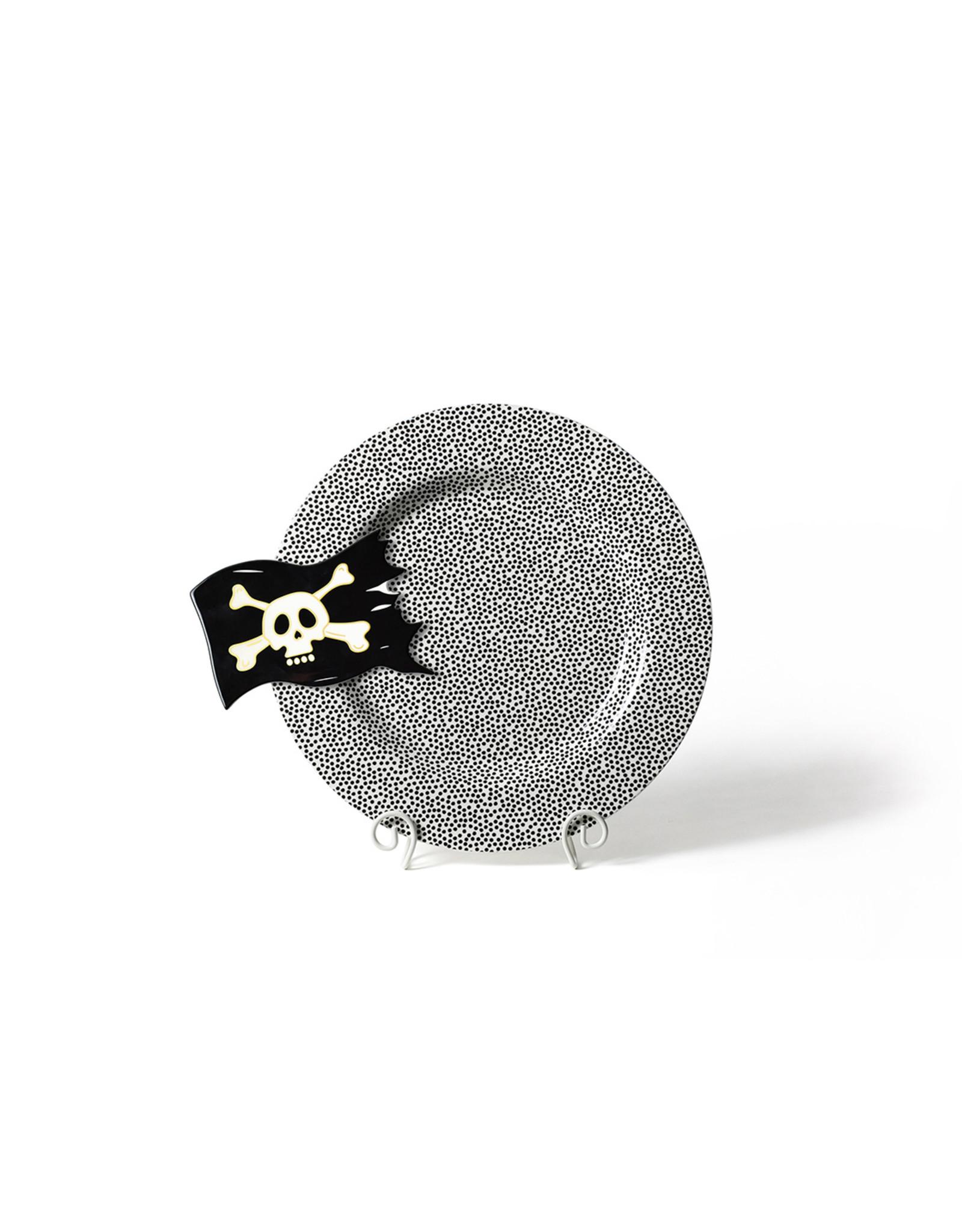 Black Small Dot Entertaining Big Platter