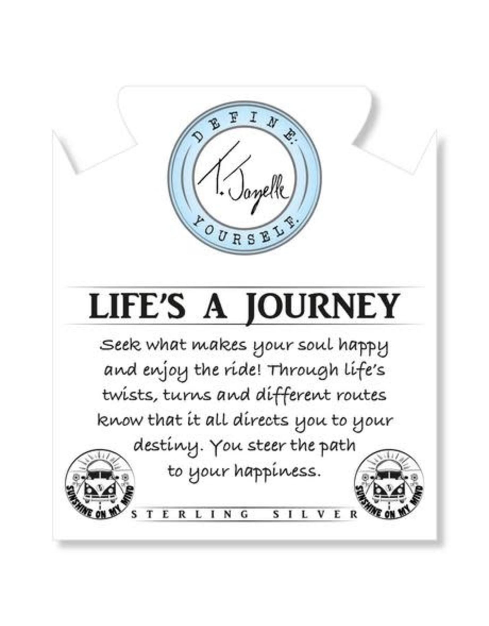 Life's A Journey Yellow Calcite Bracelet